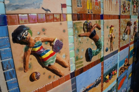 Sandy Tiles: Superstorm Sandy Relief Tile Mural Project