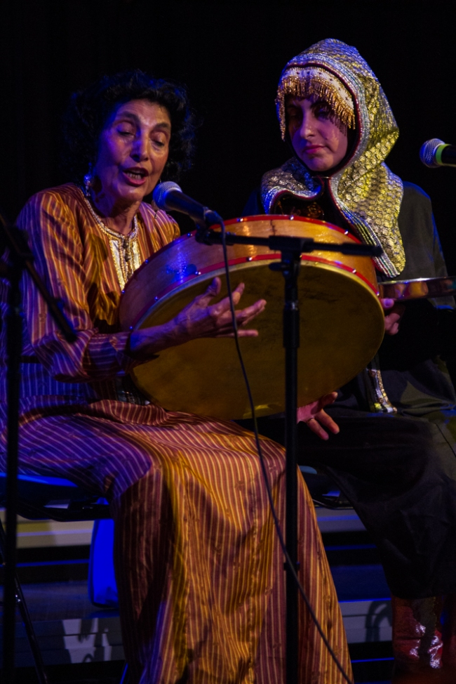 Shoshana Tubi and Roselle Silverstein at Mothersongs on May 11, 2014