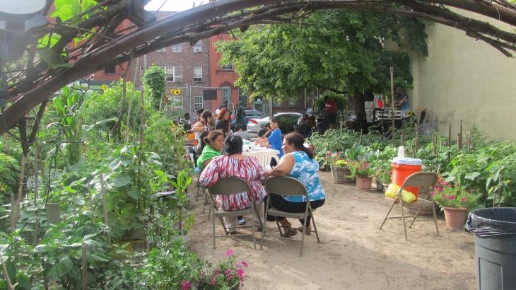 Neighbors at Granite Street Garden