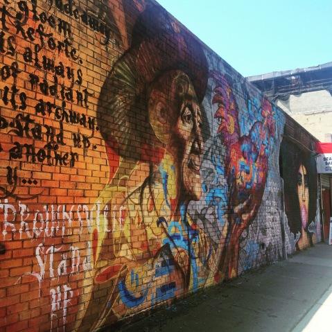 Brownsville Stand Up! N Carlos Jay, Rocko of Dodworth Street Murals, & Joel Bergner