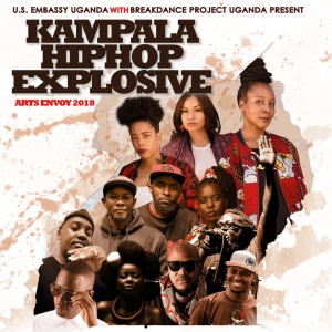 Kampala Hiphop Explosive poster from 2018