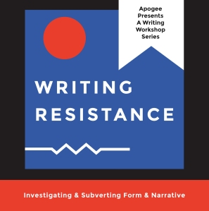 Writing Resistance Flyer